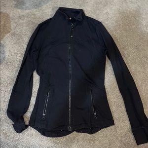 Lululemon size 8 black zip up